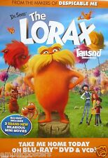 """DR. SEUSS """"THE LORAX"""" THAILAND PROMO VIDEO POSTER"""