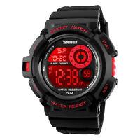 Men's Sport Military Digital Quartz Shock Chrono Waterproof Colorful Wrist Watch