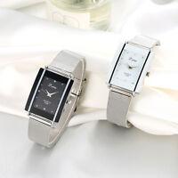 Reloj pulsera casual cuarzo con pulsera acero inoxidable Diamon para mujer Vogue