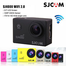 "SJCAM SJ4000 Wifi 2"" LCD Action Video Camera 1080P FHD 30M Waterproof Sports DV"