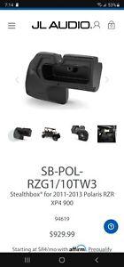 JL audio 94619 SB-POL-RZG1/10TW3 11-13 Polaris RZR XP4 900 stealthbox 10TW3 LOOK