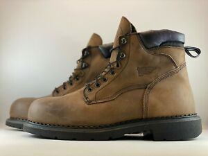 Red Wing Mens 6-Inch Insulated Steel Toe Waterproof Work Boots Size 13 E2 - 2206