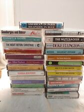 Vintage Lot of 27 Cassette Tapes mostly Christmas.  Andy Griffith, some random.