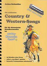 Harmonica-juego cuaderno sin notas: country & western canciones-para Bluesharp