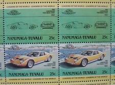 1966 LAMBORGHINI P400 MIURA Coupe Car 50-Stamp Sheet / Leaders of the World