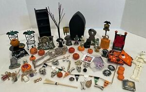 Vintage Halloween Smalls Most 1:12 Scale Some Handcrafted Dollhouse Miniatures