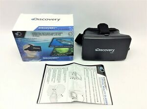 """2016 Discovery Virtual Reality Glasses Smart Phones Holds Screen 4-5.5"""""""