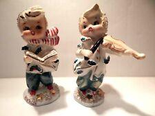 New ListingPair Of Vintage Geo. Z. Lefton Christmas Caroler Figurines