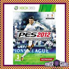 Pro Evolution Soccer 2012 (Microsoft Xbox 360) Brand New