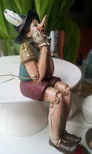 Pinoccio Pinocchio Kantenhocker Kantensitzer Clayre&Eef Figur Dekofigur Clayre