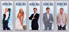 Mamma Mia Set of Five Movie Poster Large Fridge Magnets