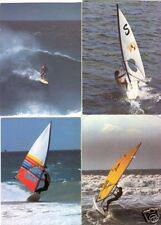 Wind Surfing Sport 141 Postcards pre-1980