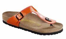 Sandalias y chanclas de mujer naranjas Birkenstock