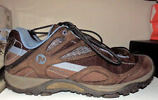 Merrell Siren Sync Brown Periwinkle Vibram Hiking Shoes Women's Size 7 US / 37.5