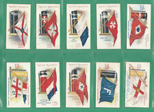 In Plastic Sleeves Flags Collectable Cigarette Cards