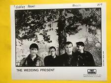 The Wedding Present Press Photo 8x10�, David Gedge, First Warning Records.
