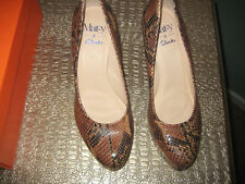 Clarks Women's Snakeskin Court Shoes