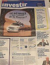 INVESTIR*J.FINANCE*N°2314**12/5/2018*TRUMP AU PAYS DE L'OR NOIR*PÉTROLE & BOURSE