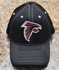 ATLANTA FALCONS NFL Reebok TEAM APPAREL Fitted Hat Cap SZ SMALL / MEDIUM BLACK