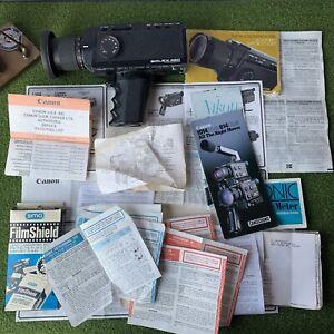 Paillard Bolex 480 Macrozoom Bolex 1:1,8 Macrozoom/7-56 MM Booklets UNTESTED