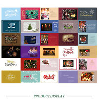 30pcs/Set Merry Christmas Xmas Post Cards Happy New Year Postcards Posters Decor