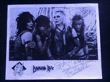 Diamond Rexx Autographed Promo 8x10 Photo 1983 LAST ONE IN STOCK!