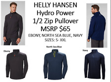 Helly Hansen Hp 1/2 Zip Pullover; Colors: Navy, Ebony, or N Sea Blue; Sz: S-Xxl