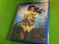 Wonder Woman (Blu-ray Disc, 2017) DC Comics Wonder Woman Blu Ray New free s/h !!