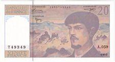 More details for 1997   france 20 francs banknote   banknotes   km coins