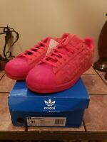 Adidas Superstar Xeno AQ8181 Reflective Red Casual Shoes. Men's Size 9.5. New !!