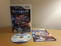 NINTENDO WII: Spyborgs for Nintendo Wii PAL COMPLETE WITH MANUAL - FREE P&P