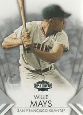 2012 Topps Triple Threads Baseball #56 Willie Mays San Francisco Giants