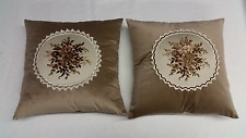 Decorative Pillows Indoor Outdoor House Decor Cushion Cover Sofa 2 Pc Pillow Set