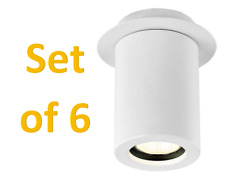 REDUCED Set of Six White LED Ceiling Spot Downlight By Haysoms