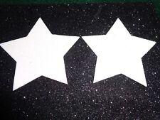 Pasties/ Nipple Covers Water Resistant White Stars