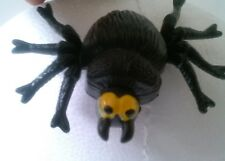 Halloween Black Moving hanging Spider With Bell & Lapel Broach Pin Lot Of 36 New