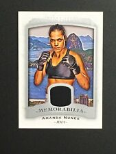 2017 UD Goodwin Event-Used MMA Memorabilia Amanda Nunes #M-AN NM