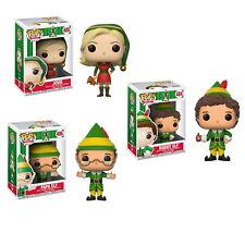 3 Set Elf - Buddy Jovie Papa Pop! Vinyl Figure Figures - New