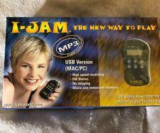I-Jam MP3 Digital Audio Player USB Version for Mac/PC 90s Era *RARE* Sandisk