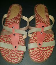 Naya Zephyr Shoes Sandals Size 9.5 Coral Taupe Coffee New