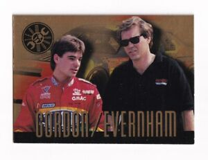 1994 Finish Line GOLD TEAMWORK #TG6 Jeff Gordon/Ray Evernham BV$8! SWEET CARD!