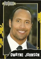 "Dwayne ""The Rock"" Johnson.  POPCARDZ #15 Trading Card. In Protective Sleeve"