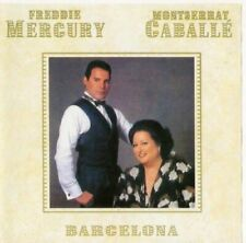 FREDDIE MERCURY & Montserrat Caballe - Barcelona ( AUDIO CD in JEWEL CASE )
