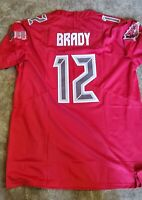 NEW Tom Brady Color Rush Tampa Bay Buccaneers #12 Jersey Men Size Medium N STOCK