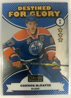 2017-18 Connor McDavid O-Pee-Chee Platinum Destined for Glory #DG-1 Oilers