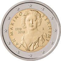 2 Euro Gedenkmünze San Marino 2018 420. Geburtstag von Gian Lorenzo Bernini