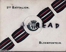 Militär Kunst Grußkarte 1910 2nd Dcli Duke Von Cornwalls Leichte Infanterie