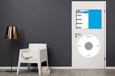Dry Erase Dorm Room Door MP3 Player Decals Retro Man Cave Music Stickers iPod