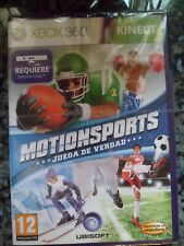 Motionsports Juega de Verdad Xbox 360 Nuevo Juego Deportes Sports en castellano
