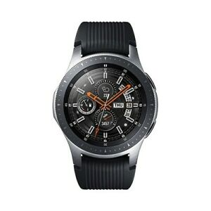 Samsung Galaxy Watch SM-R800 46mm Black / Silver Case Average Condition